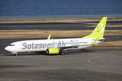JA805X_Boeing737-800_SolaseedAir_HND (Tony Osborne - Rotorfocus) Tags: boeing 737800 737 solaseed air japan tokyo international airport hnd 2019