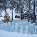 Luosujärvi ice blocks