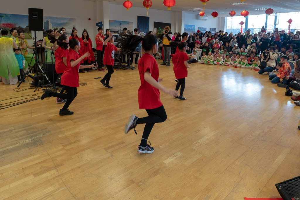 YEAR OF THE PIG - LUNAR NEW YEAR CELEBRATION AT THE CHQ IN DUBLIN [OFTEN REFERRED TO AS CHINESE NEW YEAR]-148942