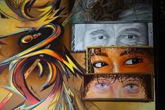 Stadtwesen (just.Luc) Tags: mural graffiti grafitti streetart urbanart hambourg hamburg allemagne deutschland duitsland germany eyes ogen yeux augen colors couleurs kleuren farben colours