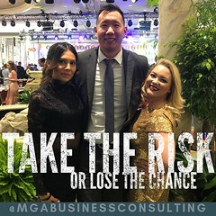 If you're not taking any risks, you don't have a shot at success. Remember, big risk = big reward! 💫🙌 • • • • • #mgabusinessconsulting #phoenix #success #takerisks #businessgrowth #businesssuccess #growyourbusiness #entrepreneursofinsta (MGABusinessConsulting) Tags: mga business consulting phoenix team entrepreneurship company culture small leadership development built for success