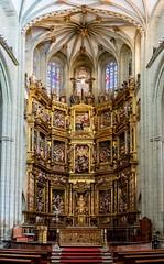 Astorga-Catedral-Retablo mayor (dnieper) Tags: catedraldeastorga retablomayor astorga león spain españa panorámica