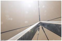 Stahlseile / steel cables (Reto Previtali) Tags: technik industrie stahl stole bokeh sonnenstrahlen sunbeams sky himmel dunst haze weitwinkel wide sigma tamron pentax nikkor flickr digital color farben schweiz switzerland flims graubünden outdoor coth5 art outside light