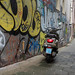 Scooter in an alley // Amsterdam