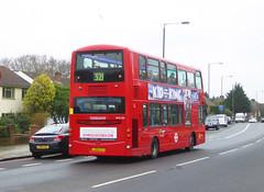 GAL WVL282 - LX59CYY - OSR - ELTHAM ROAD - SAT 16TH FEB 2019 (Bexleybus) Tags: goahead go ahead london eltham road se9 south east tfl route 321 wrightbus gemini volvo b9 wvl282 lx59cyy
