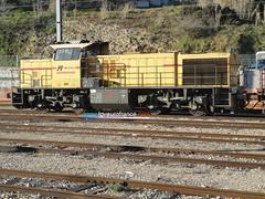 g1206-1 (tgveurofrance) Tags: locomotive thermique vossloh mak g1206 meccoli gare aubagne