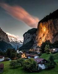 Schweiz - LAUTERBRUNNEN - Beautiful view of the Valley (monte-leone) Tags: lauterbrunnen panoramalauterbrunnen panorama lauterbrunnenpanorama schweiz switzerland