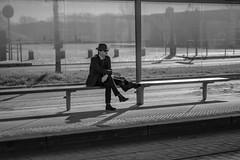 DSCF2094 (LexomIA) Tags: bordeaux street urbain bw nb streetphotography