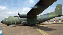 VFW Transall C-160D 50+72 (707-348C) Tags: raffairford england egva germanairforce gaf ffd c160d c160 transall riat airshow airtatoo 5072 fairford transport military cargo propliner turboprop freighter 2016 prop