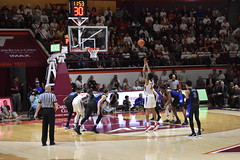 FREE THROWS (SneakinDeacon) Tags: vt virginiatech vatech hokies duke bluedevils acc basketball cassell coliseum