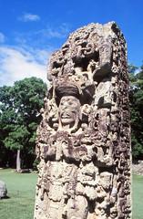 Eighteen Rabbit stela, Copan (Niall Corbet) Tags: honduras copan maya mayan archaeology ruins stela eighteenrabbit