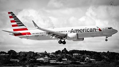 American Airlines | N342RX | Boeing 737-MAX 8 | BGI (Terris Scott Photography) Tags: aircraft airplane jet aviation plane spotting nikon d750 travel barbados jetliner american airlines boeing 737 max 8 tamron sp 70200mm f28 di vc usd g2 miami