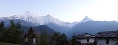 Part of the Annapurna Range