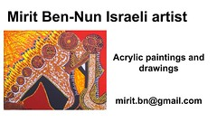 Mirit Ben-Nun by great art artistic woman painting women finest works of art culture fresh draw (female art work) Tags: material no borders rules by artist strong from language influence center art participates exhibition leading powerful model diferent special new world talented virtual gallery muse country outside solo group leader subject vision image drawing museum painting paintings drawings colors sale woman women female feminine draw paint creative decorative figurative studio facebook pinterest flicker galleries power body couple exhibit classic original famous style israel israeli mirit ben nun
