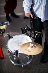 Drummer at carnival during a break with his drum on the ground (Ivan Radic) Tags: drummer karneval pause trommel trommler aufdemboden carnival drums duringabreak ontheground viltroxefeosm2 speedbooster focalreducer canon50mmf14usm canoneosm50 mirrorless spiegellos evil cscilc prime systemcamera systemkamera mödling österreich austria fasching faschingsumzug 2019 ilc csc ivanradic