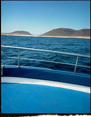 Last of the roll. La Graciosa, Lanzarote (AntoineLegond) Tags: lanzarote lagraciosa landscape cruising boat volcano mamiya7ii 65mm kodak portra film analogue spain canaryislands