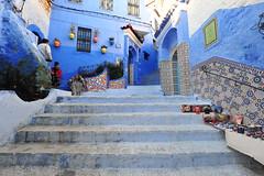 Chefchaouen, Morocco, January 2019 D700 282 (tango-) Tags: chefchaouen bluecity villaggioblu bluevillage morocco maroc 摩洛哥 marruecos марокко المغرب