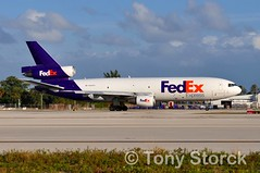 N383FE (bwi2muc) Tags: fll airport airplane aircraft airline plane flying aviation spotting spotter mcdonnell douglas dc10 md10 cargo cargoairline cargoaircraft fedexexpress fedex dc1010 dc1010f md1010f n383fe fortlauderdaleinternationalairport fortlauderdaleairport