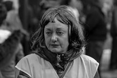 8M - Día Internacional de la Mujer (Bilbao) (samarrakaton) Tags: byn bw blancoynegro blackandwhite monocromo 2019 8m mujer woman samarrakaton nikon d750 70200 bilbao bilbo bizkaia manifestacion protesta reivindicacion diainternacionalmujer