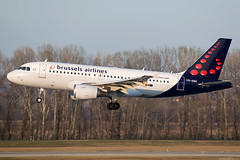 OO-SSX (Andras Regos) Tags: aviation aircraft plane fly airport bud lhbp spotter spotting landing brusselsairlines airbus a319