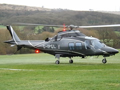 G-IPGL Agustawestland AW-109-SP Helicopter (Castle Air Ltd) (Aircaft @ Gloucestershire Airport By James) Tags: cheltenham helipad gipgl agustawestland aw109sp helicopter castle air ltd egbc james lloyds