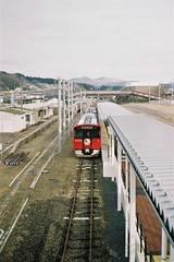 Oga Station (accumulation complete) (しまむー) Tags: canon af35m autoboy 38mm f28 fuji fujicolor 100 oga kakunodate 男鹿 角館