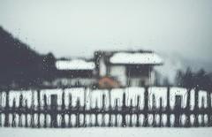 Llueve... (esterc1) Tags: ventana cristal lluvia gotas invierno frío valla dolomitti