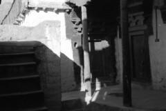 Buddhist monastery (Paolo Levi) Tags: matho gompa sakya ladakh india canon ftb fd 50mm tmax buddhism buddhist tibetan