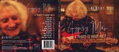 Albert's New CD 'Gypsy Man', Liner Notes by Wayne Lee,  signed by Albert and Ollie (gudrunfromberlin) Tags: albertlee guitars noergelbuff goettingen niedersachsen lowersaxony liveclub livemusic olliesears bengolding rossspurdle waynelee gypsyman buddyholly