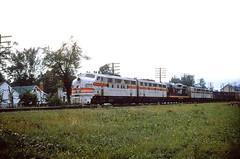 CB&Q F3 117D (Chuck Zeiler 48Q) Tags: cbq f3 117d burlington railroad emd locomotive sandwich train alchione chz