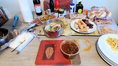 Informal dinner with family (Sandy Austin) Tags: panasoniclumixdmcfz70 sandyaustin westauckland gleneden auckland food myfamily spicy curries
