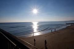 Beautiful day in Bournemouth on Sunday (RachaelHouse) Tags: coast beach sea view sun
