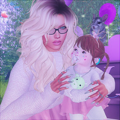 Mommy and I (daisypea) Tags: flickr spam art daisy crowley secondlife second life sl roleplay toddler child kid children tot td bebe bad seed toddleedoo colour color draw paint crayon photo photography picture rp cute sweet adorable baby little girl daughter sister family look day lotd landscape school create creativity creative sweetpea portrait snap snapshot quick dress up dressup person people play playful adore 2006 flower illustration daydream dream vday valentine adoption