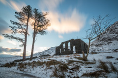 Cwmorthin Chapel Sunrise (chrisellis211) Tags: