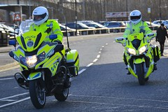 NX16 DVK & LG66 OGU (S11 AUN) Tags: cleveland police bmw r1200rt motorcycle roadspolicingunit trafficbike traffic bike roads policing rpu 999 emergency vehicle nx16dvk durham constabulary yamaha fjr 1300 motorbike policebike unit lg66ogu