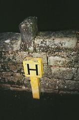 H (bigalid) Tags: film konica pop c35efj kodak colorplus 200iso c41 dumfries december 2018 hydrant