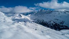 Hohmad (Silvan Bachmann) Tags: hohmad switzerland swiss suisse mountains snow white windy obwalden snowshoe hike swissalps melchseefrutt nature landscape dji phantom drone photography clouds sun shadow ngc breathtakinglandscape