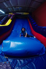 4730 Leap Up (mliu92) Tags: figgy daughter belmont pumpitup birthday inflatable party nikkor 1635