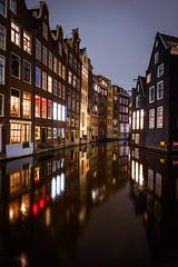 Canal night (Nicola Demegni) Tags: 2019 amsterdam olanda nicolademegni nikond750 longexposure nightscape