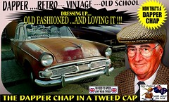 Dapper Chap In A Tweed Cap 2019  Part 11 (Save The Last Ocean) Tags: vintagecarclub vintagecar oldschool retro man fashion poster sign outdoor distinguished gentlemans cap tweed wearing car nz kiwi older oldman granpa classic auto vehicles cavalrytwilltrousers rally show club menswear scottish houndstooth uk british woven yorkshire 2019 nokia headlight art blazer plaid auckland hamilton rotorua tauranga gisbourne napier hastings wellington nelson christchurch dunedin invercargill city tweedcap tweedjacket citycouncil newplymouth whanganui wanganui rockandhop parked road street tweedjacketphotos humber forsale vehicle sedan saloon manwearingtweedjacket menstweedjacket ride run dapper