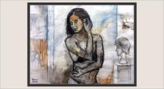 MUJER-PINTURA-ARTE-POSADOS-SOLTANDOSE-PELO-MODELO-RATPENAT-ESCENAS-INTIMIDAD-PINTURAS-ARTISTA-PINTOR-ERNEST DESCALS (Ernest Descals) Tags: mujer ratpenat modelo model modelos models mujeres chicas femenina sensualidad intimidad momentos intimos intimity moment tiempo posados inconscientes memoria figura cuerpo body pelo coleta soltarse cabello hair negro black sensual sensuales girl girls woman women posar movimiento dibujar atrapar observacion pintar pintando pintant dona dones manresa pinturas pintura pintures cuadros quadres paint female pictures painting paintings art arte artwork painter painters plastica trazos relieves formas lenceria lingerie pintor pintors pintore artistas artistes artist artista ernestdescals