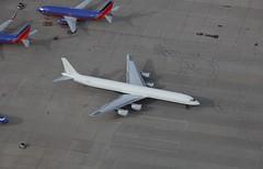 OB-2158-P DC-8-73CF Ex Peruvian Airlines (corkspotter / Paul Daly) Tags: n873sj douglas dc863cf dc86 46091 519 l4j gmch ac0314 aerousa inc 1970 19920127 2018 ob2158p kvcv vcv victorville peruvian airlines