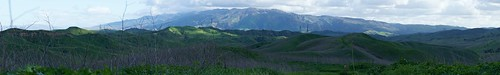 Chino Hills with Saddleback Mountain