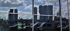 (Uno100) Tags: rotterdam 2019 building sky scraper blue de maas nh hotel glass mirror sgreendark
