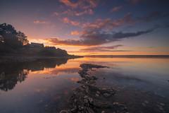 Sur un fil .... (adilemoigne) Tags: bretagne breizh finistère landscape seascape sunset