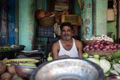 (Jason Clifton) Tags: canon canon5dmarkiii 5dmarkiii 5dm3 ef35mmf14lusm 35mmf14l 35mm 35mml streetphotography amburindia ambur india documentary photojournalism nationalgeographic natgeo primelens nozoom noflash availablelight existinglight naturallight streetportrait indiastories environmentalportrait jasonclifton jasoncliftonflickr flickrjasonclifton natgeofacesoftheworld male poor portrait market fruitstand produce fruit vegetables