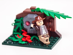 365.80 - Why does it always have to be snakes? (AmyGStubbs) Tags: 2019 21mar19 365the2019edition 3652019 day80365 e30 fl50 flash indianajones lego olympus sigma105mmf28exdgmacrofourthirds snakes