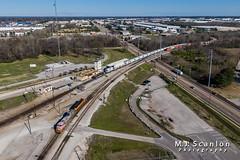 BNSF 637 | GE C44-9W | BNSF Tennessee Yard (M.J. Scanlon) Tags: atsf637 atchisontopekasantafe bnsf1809 bnsf637 bnsftennesseeyard business c449w capture cargo commerce dji digital drone emd engine freight ge horsepower ln ln1208 landscape locomotive logistics louisvillenashville mjscanlon mjscanlonphotography mavik2 mavik2zoom memphis merchandise mojo move outdoor outdoors photograph photographer picture quadcopter rail railfan railfanning railroad railroader railway sd38p santafe scanlon super tennessee track train trains transport transportation warbonnet wow ©mjscanlon ©mjscanlonphotography