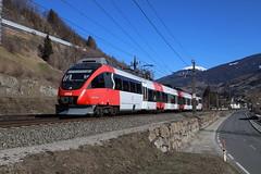 ÖBB 4024 075-6 S-Bahn, Matrei am Brenner (TaurusES64U4) Tags: öbb 4024