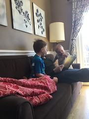 """Daddy Reads to Paul and Dani • <a style=""""font-size:0.8em;"""" href=""""http://www.flickr.com/photos/109120354@N07/32536534007/"""" target=""""_blank"""">View on Flickr</a>"""